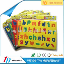 Educational Toys for kids Magnetic EVA foam Letter EVA fridge magnet puzzles